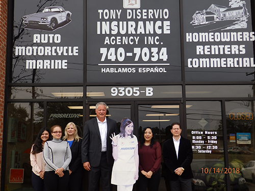 Tony DiServio Insurance, Inc. staff